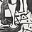Thumbnail: Woodcut, signed Gustav Grund