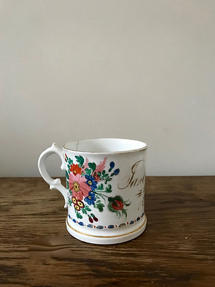 Hand Painted 1859 China Mug