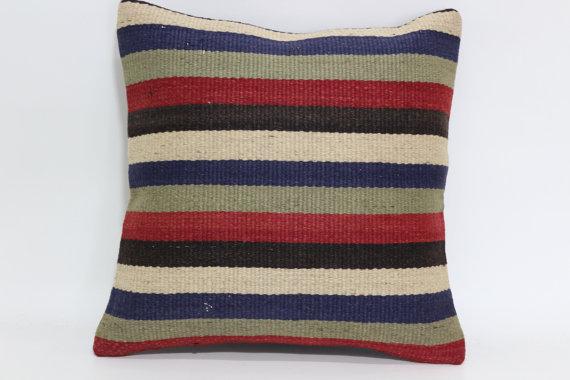 Kilim Striped Cushion
