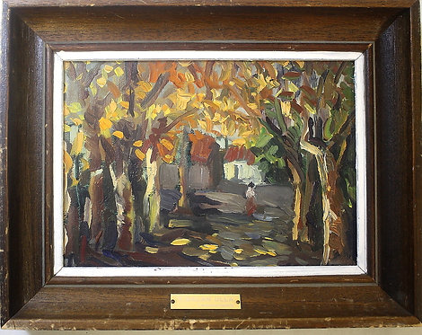 'Tenerife' Framed Oil on Canvas