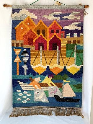 Ingegerd Silow Designed Tapestry