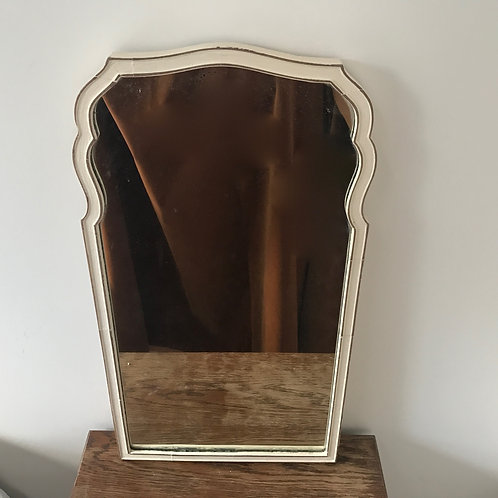 Edwardian Mirror - Frame Painted White