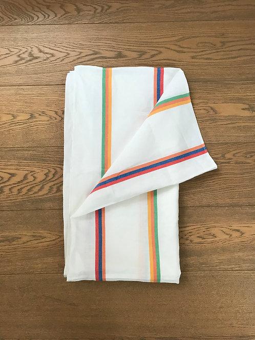 Striped Irish Tablecloth