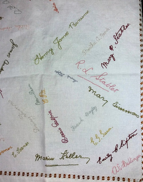 Labour of Love Tablecloth