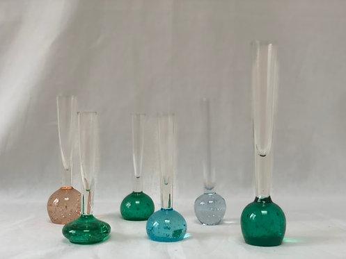 Set of Six Bud Vases