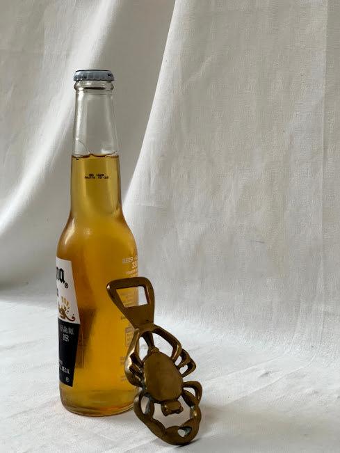 Vintage Brass Scorpion/Crab Bottle Opener