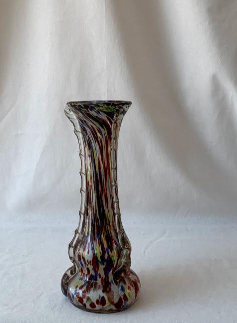 Glass Speckled Vase