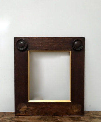Fine Antique Edwardian Oak Picture Frame