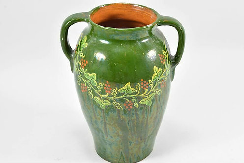 Art Nouveau Ceramic Vase, Urn, German