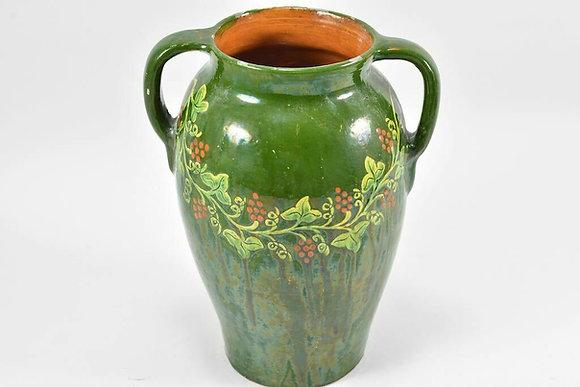 Art Nouveau Ceramic Vase, Urn, German