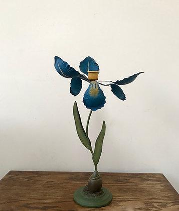Decorative Iris Flower Candlestick