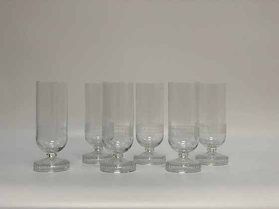 Set of Six Boxed Campari Thun Glasses