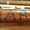 Thumbnail: Edwardian Glass With Wood Frame - Monogrammed MARV