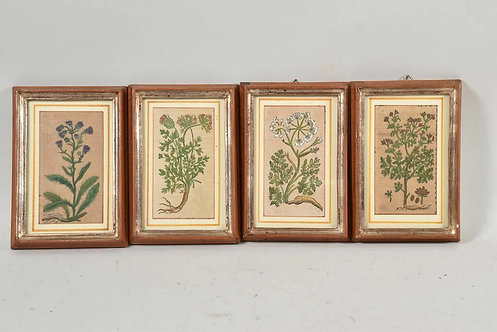 Four Framed Woodcuts