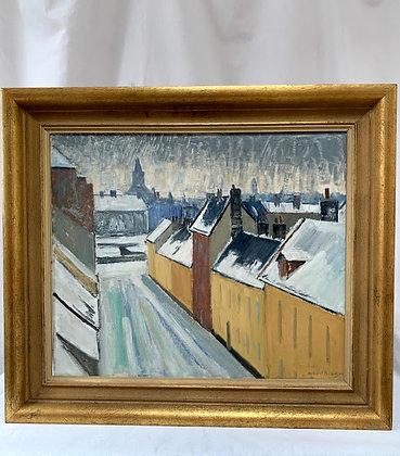 Winter City Centre by Albert Kruger
