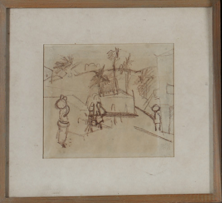 Framed Sketch, Swedish