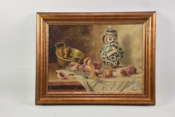 20th Century Oil, Still life with a Westerwald Mug