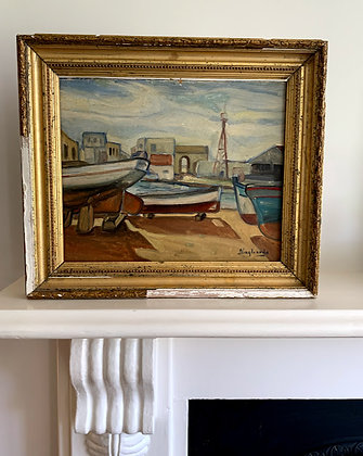 Unknown Oil Painting 20th Century.