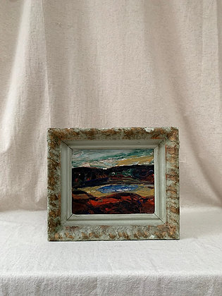 20th Century - Oil On Board, Framed.
