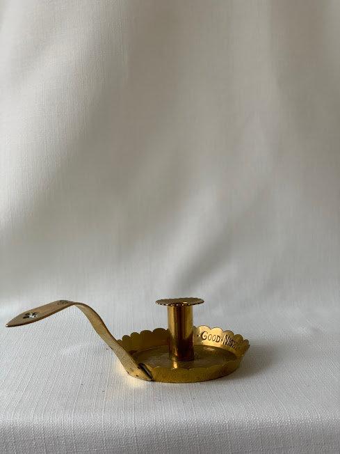 Victorian Brass Chamberstick