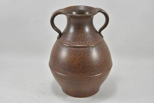 Ceramic German Vase, Two  Handles