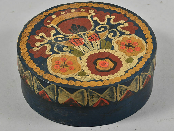 Bentwood Box, Painted