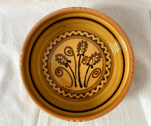Alan Frewin Millhouse Pottery Slipware Dish