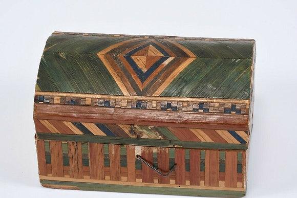 Straw Box from Berchtesgadene