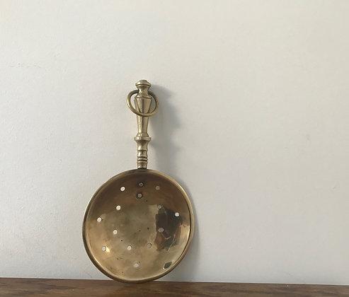 Decorative Vintage  Brass Strainer