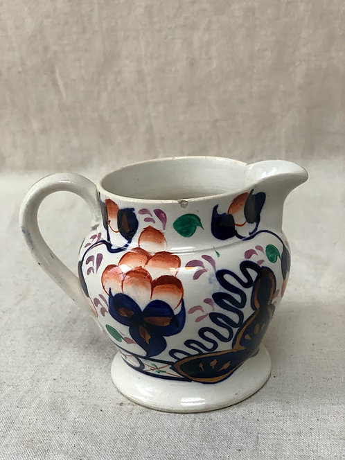 Gaudy Welsh Milk Jug