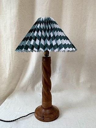 Mid Century Wooden Lamp