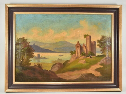 Oil Painting, 19th Century, Germany