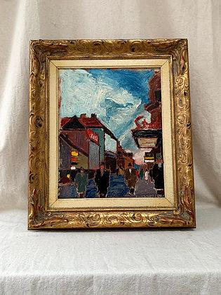 Oil on Panel by Wilhelm Henning (1899–1955)