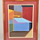 Thumbnail: Abstract Painting, Framed - Dated & Signed