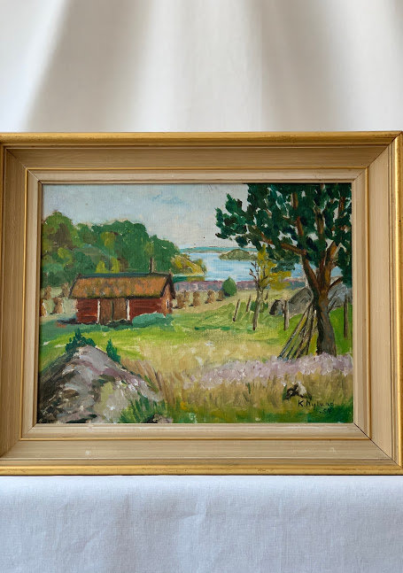 20th Century Swedish Oil Painting