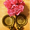 Thumbnail: Two Shell Shaped Solid Brass Taper Candle Holders