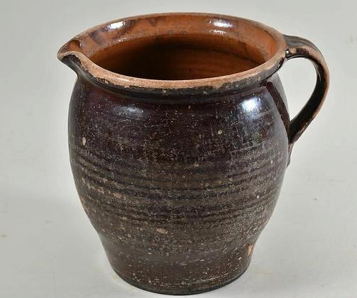 19th Ceramic Jug, German