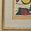 Thumbnail: Framed Colour Woodcut, Dated 1956
