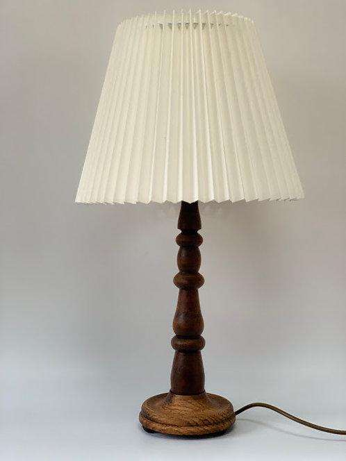 Vintage Solid Wood Table Lamp