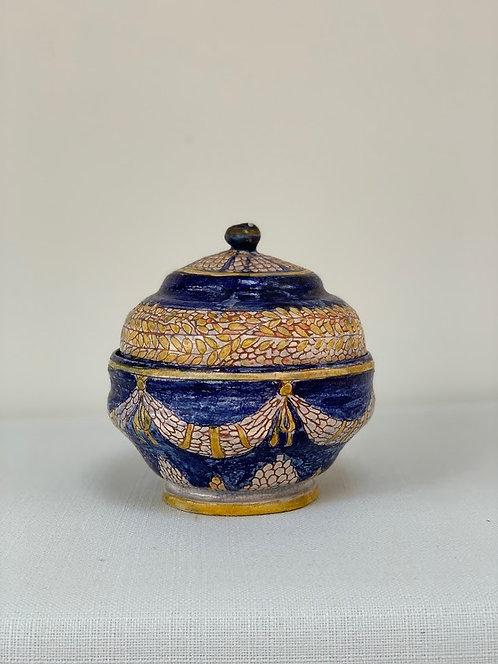Beautiful Decorative Lidded Jar