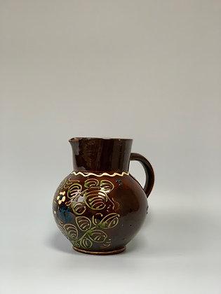 Ceramic Hand Painted Jug, German
