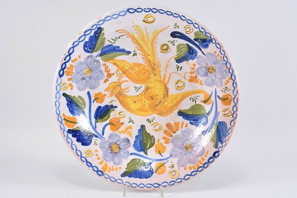 Large Faience Bowl