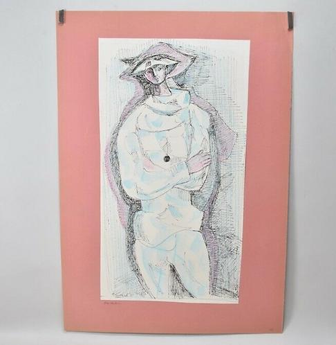 Harlequin, by Gustav Grund.
