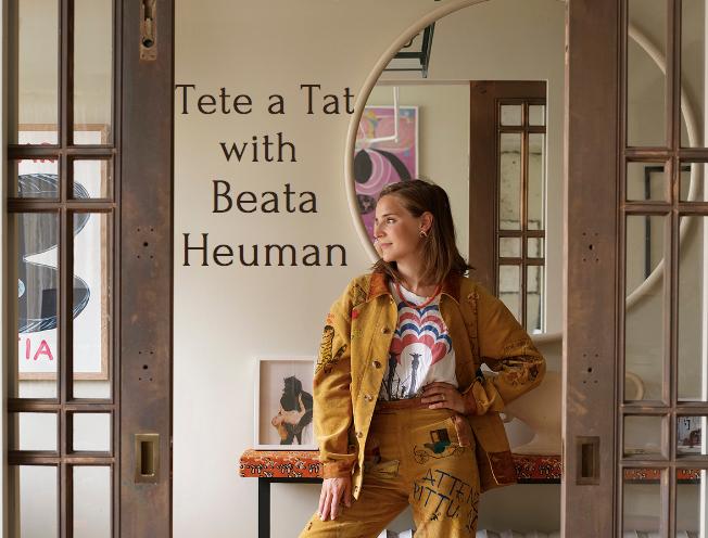 Designer Beata Heuman by Simon Upton