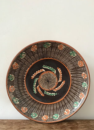 Handmade Romanian Plate
