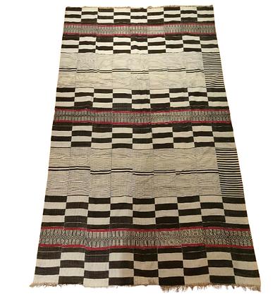 African blanket Burkina Faso in 1979