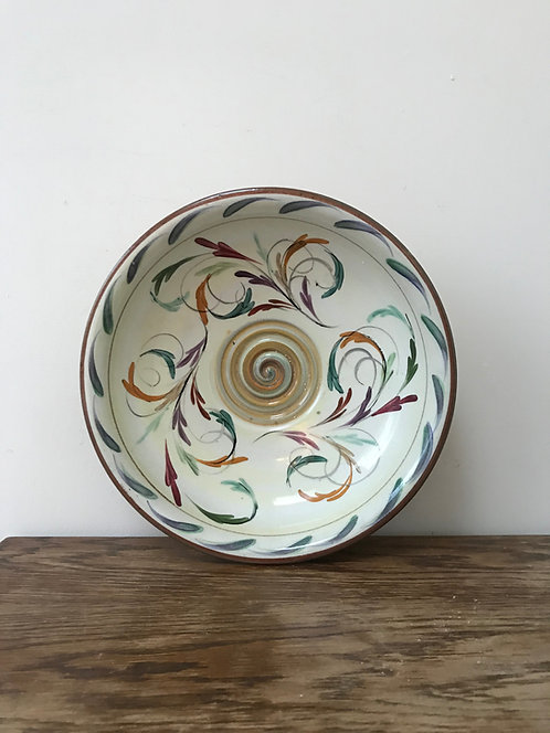Hand Painted Serving Bowl.