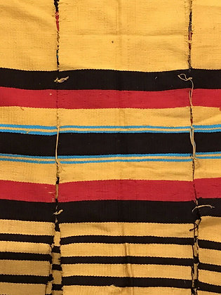 Authentic African blanket/throw/wall hanging from Burkina Faso in 1980