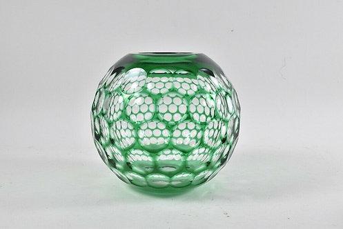WMF Cristal Cabinet Glass Vase Green