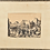 Thumbnail: India ink drawing, harbour scene, sign. H. Röseler